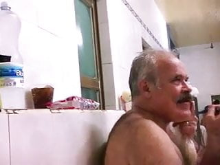 Str8 Spy Pakistani Padre With Throw Up Bath